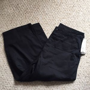 Xhilaration Black Cargo Capris
